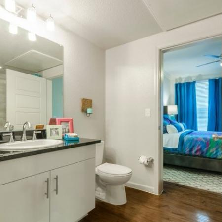 Ornate Bathroom | Apartments McKinney TX | The Mansions McKinney 3