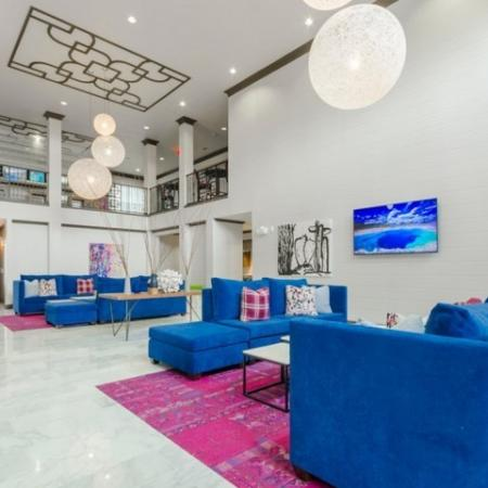 Resident Lounge | Apartments In McKinney TX | The Mansions McKinney 1