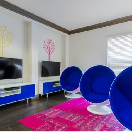 Elegant Community Club House | Luxury Apartments McKinney | The Mansions McKinney