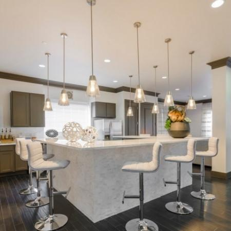 Elegant Resident Club House | Luxury McKinney Apartments | The Mansions McKinney