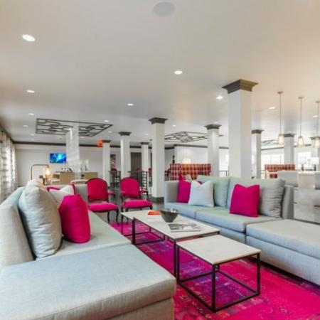 Elegant Community Club House | Luxury Apartments McKinney | The Mansions McKinney 1