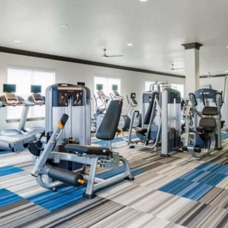 Cutting Edge Fitness Center | Apartment For Rent In McKinney TX | The Mansions McKinney