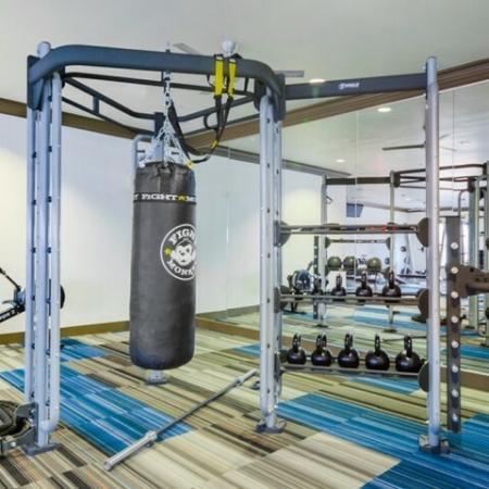 Resident Fitness Center | Mckinney Apartments | The Mansions McKinney
