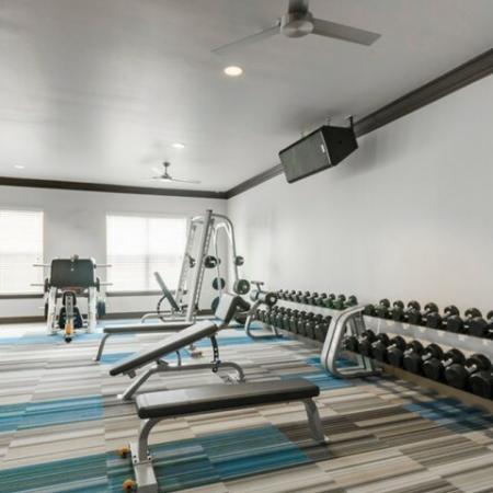 Community Fitness Center | Luxury Apartments in McKinney TX | The Mansions McKinney