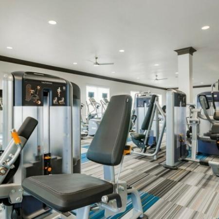 24-hour Fitness Center | Luxury Apartments McKinney | The Mansions McKinney