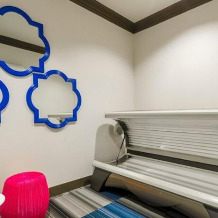 Resident Tanning Bed | Apartments McKinney TX | The Mansions McKinney