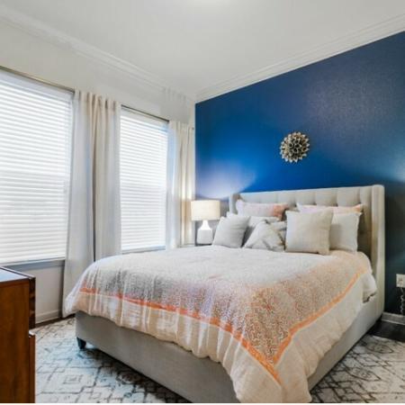 Elegant Bedroom | McKinney Apartments | The Mansions McKinney 2