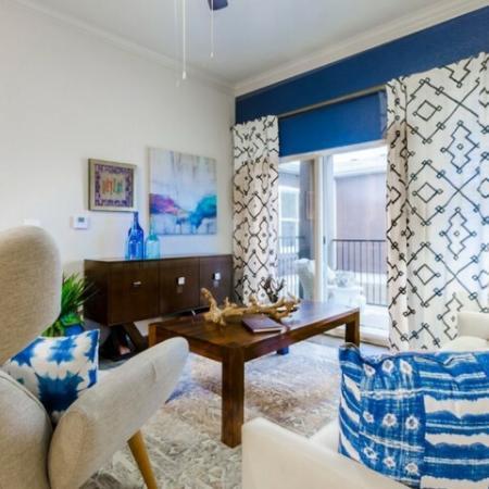 Elegant Living Area | Mckinney Apartments | The Mansions McKinney 1