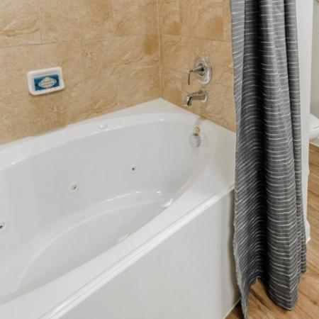 Residents in the Bathroom | Apartments In McKinney TX | The Mansions McKinney 1
