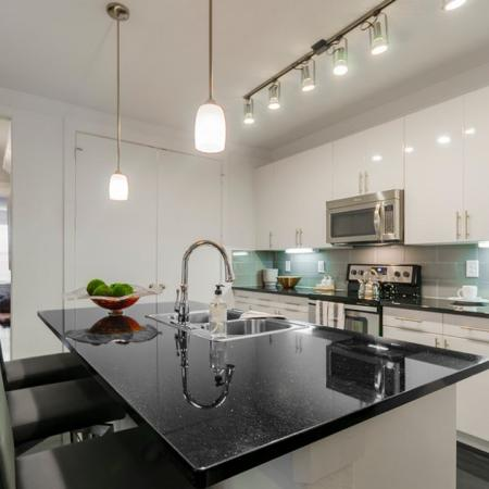 Modern Kitchen | Apartments Seabrook TX | The Towers of Seabrook1