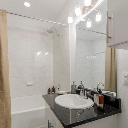 Ornate Bathroom | Apartments in Seabrook TX | The Towers of Seabrook