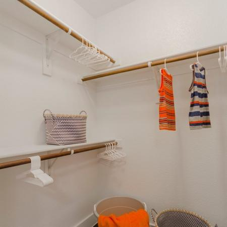 Spacious Walk-in Closet | Apartments For Rent In Seabrook TX | The Towers of Seabrook