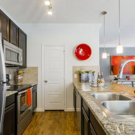 Spacious Kitchen | Luxury Apartments In Little Elm TX | The Mansions 3Eighty