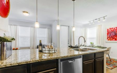 Cook in the Kitchen | Little Elm TX Apartments | The Mansions 3Eighty