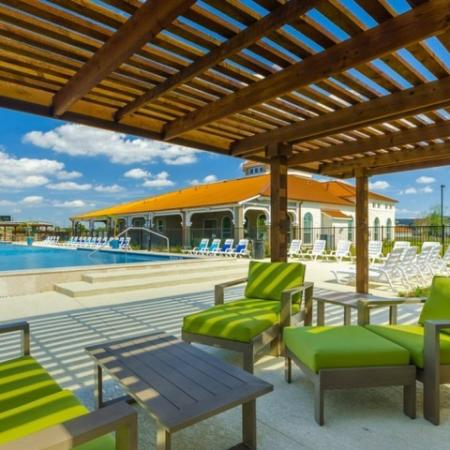 Community Sun Deck | Apartments In Little Elm TX | The Mansions 3Eighty