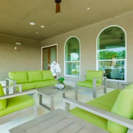 Outdoor Lounge | Apartments In Little Elm TX | The Mansions 3Eighty