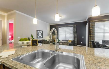 Luxurious Kitchen   Luxury Apartments In Little Elm TX   The Estates 3Eighty