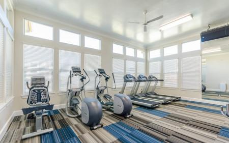 State-of-the-Art Fitness Center | Apartment Homes in Little Elm, TX | The Luxe 3Eighty