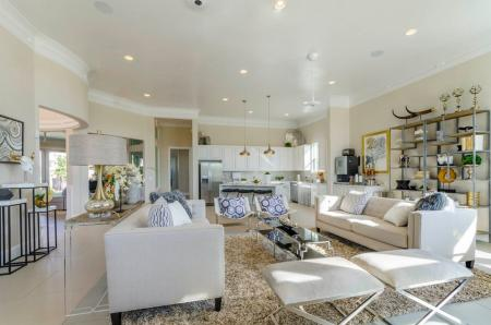 Elegant Community Club House | Little Elm TX Apartments | The Luxe 3Eighty