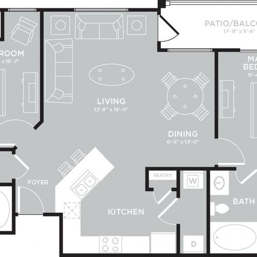 Floor Plan 8 | The Mansions on the Park