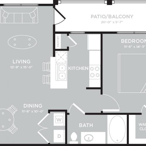 Floor Plan 3 | The Mansions on the Park