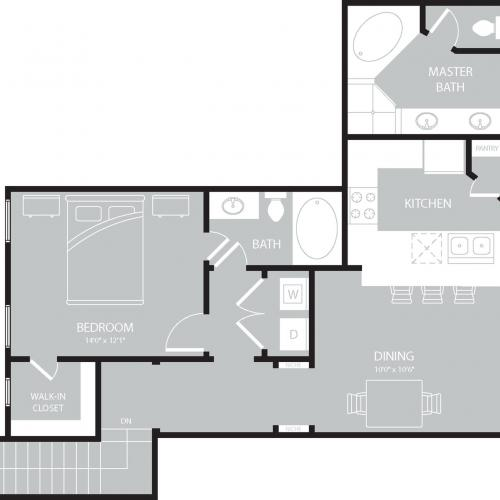 Floor Plan 10 | The Mansions on the Park