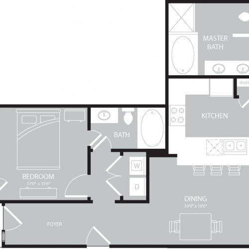 Floor Plan 11 | The Mansions on the Park