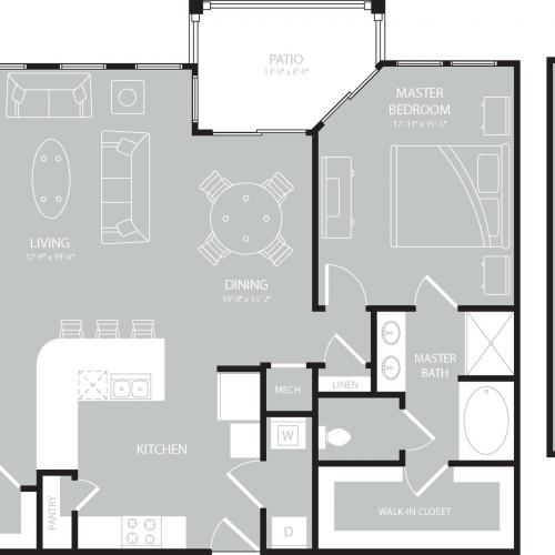 Floor Plan 15 | The Mansions on the Park