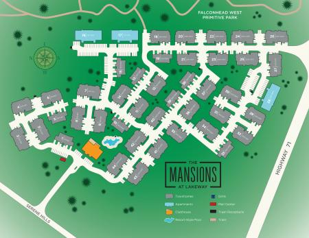 Site Plan | Luxury Apartments In Austin Texas | The Mansions at Lakeway