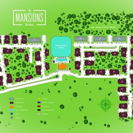 Site Plan   Apartments In Conroe TX   The Mansions Woodland