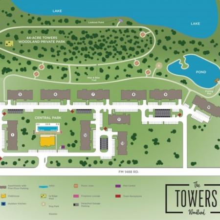 Conviently Located | Conroe Apartments