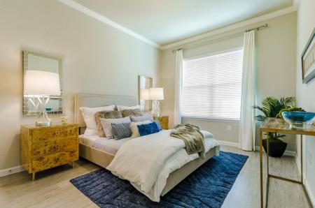 Spacious Bedroom | Little Elm TX Apartments | Luxe 3Eighty