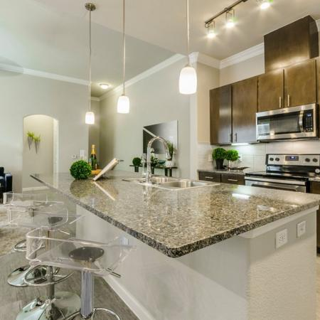 Modern Kitchen | Apartments Austin TX | The Mansions at Travesia