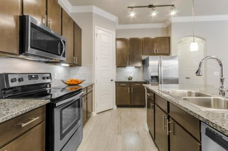 Elegant Kitchen | Apartments In Austin TX | The Mansions at Travesia