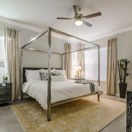 Spacious Master Bedroom | Apartments North Austin | The Mansions at Travesia