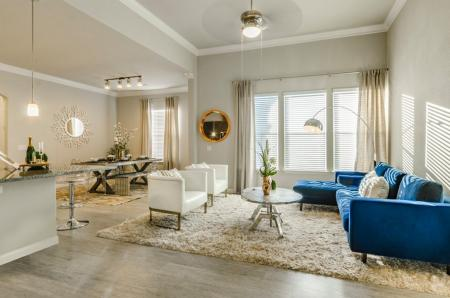 Luxurious Living Room | Apartments For Rent In Austin TX | The Mansions at Travesia