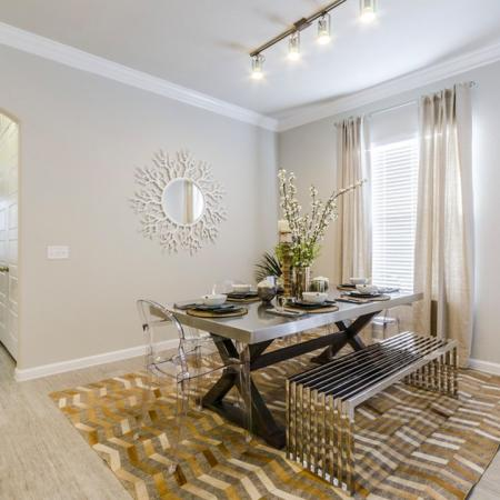 Spacious Dining Room | Austin Apartments For Rent | The Mansions at Travesia