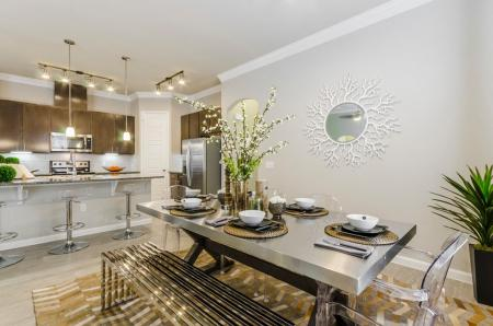Elegant Dining Room | Apartments In Austin | The Mansions at Travesia