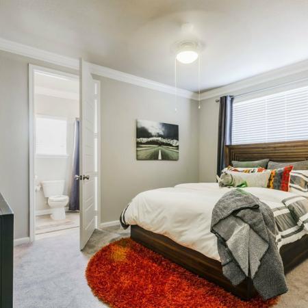 Elegant Bedroom | Apartments Austin TX | The Mansions at Travesia