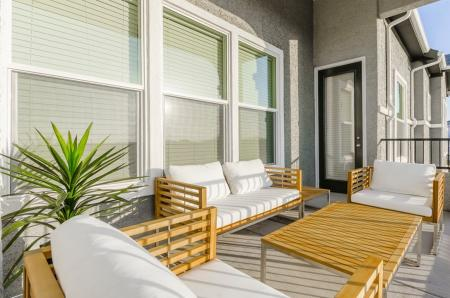 Spacious Porch Area | Apartments In Austin | The Mansions at Travesia