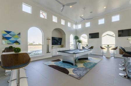 Resident Game Room | Apartments In Austin TX | The Mansions at Travesia