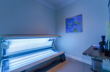 Resident Tanning Bed | Apartments In Austin TX | The Mansions at Travesia