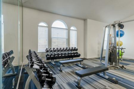 Cutting Edge Fitness Center | Apartments North Austin | The Mansions at Travesia