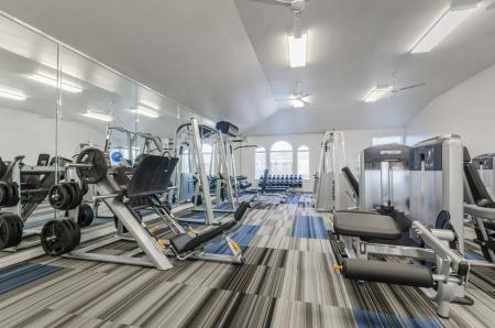 Resident Fitness Center | North Austin Apartments | The Mansions at Travesia