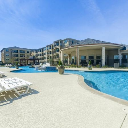 Resort Style Pool | Luxury Apartments In Wylie TX | The Mansions at Wylie01