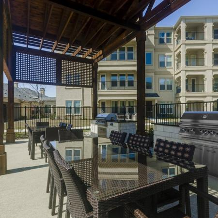 Community BBQ Grills | Apartments In Wylie Texas | The Mansions at Wylie01