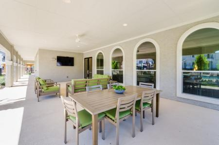 Community Sun Deck | Apartments In Austin TX | The Mansions at Travesia