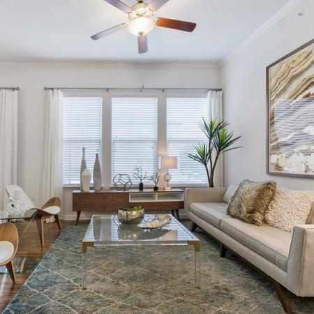 Spacious Living Room | Apartments in CONROE | The Grand Estates in the Forest