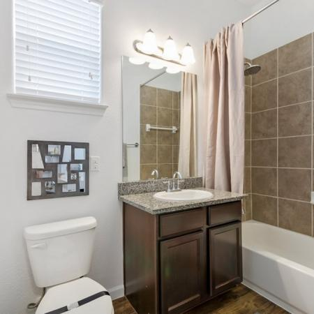 Ornate Bathroom | Apartments in CONROE | The Grand Estates in the Forest