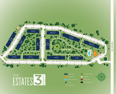 Little Elm Apartment Community   Apartments For Rent In Little Elm TX   The Estates 3Eighty